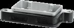 B6 Bulkhead mounted h., IP68