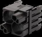 Shielded female module, 2-pole