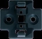 HOLDER FOR M12-T-COUPLER (SLIMLINE) + FIXING SET
