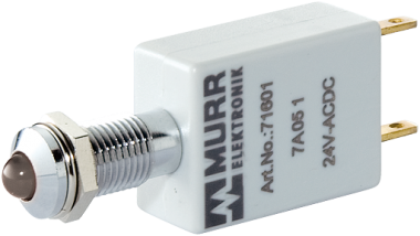 LED-display white 110V AC/DC IP67