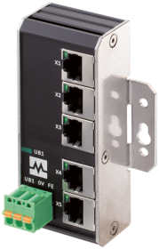 Xenterra 5TX unmanaged Switch 5 Port 1000Mbit wall mounting