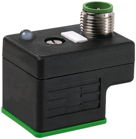 M12 adaptor on top of MSUD valve plug form A 18mm