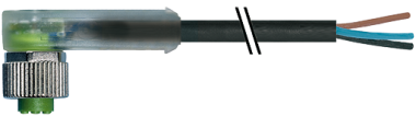 M12 FEMALE 90° RPP