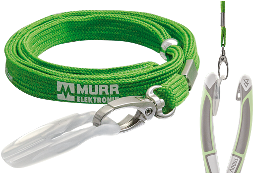 System Clip with Lanyard