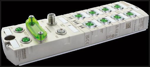 PROFINET Managed Switch 10x10/100BT IP67 Metal M12