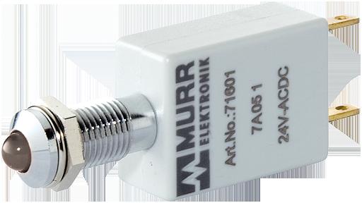 LED-display 24V DC lamp-test white