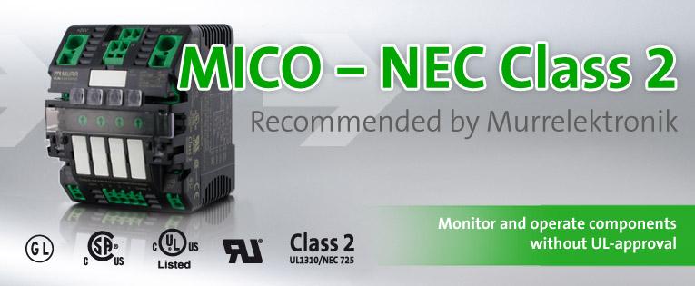 Banner MICO NEC Class 2